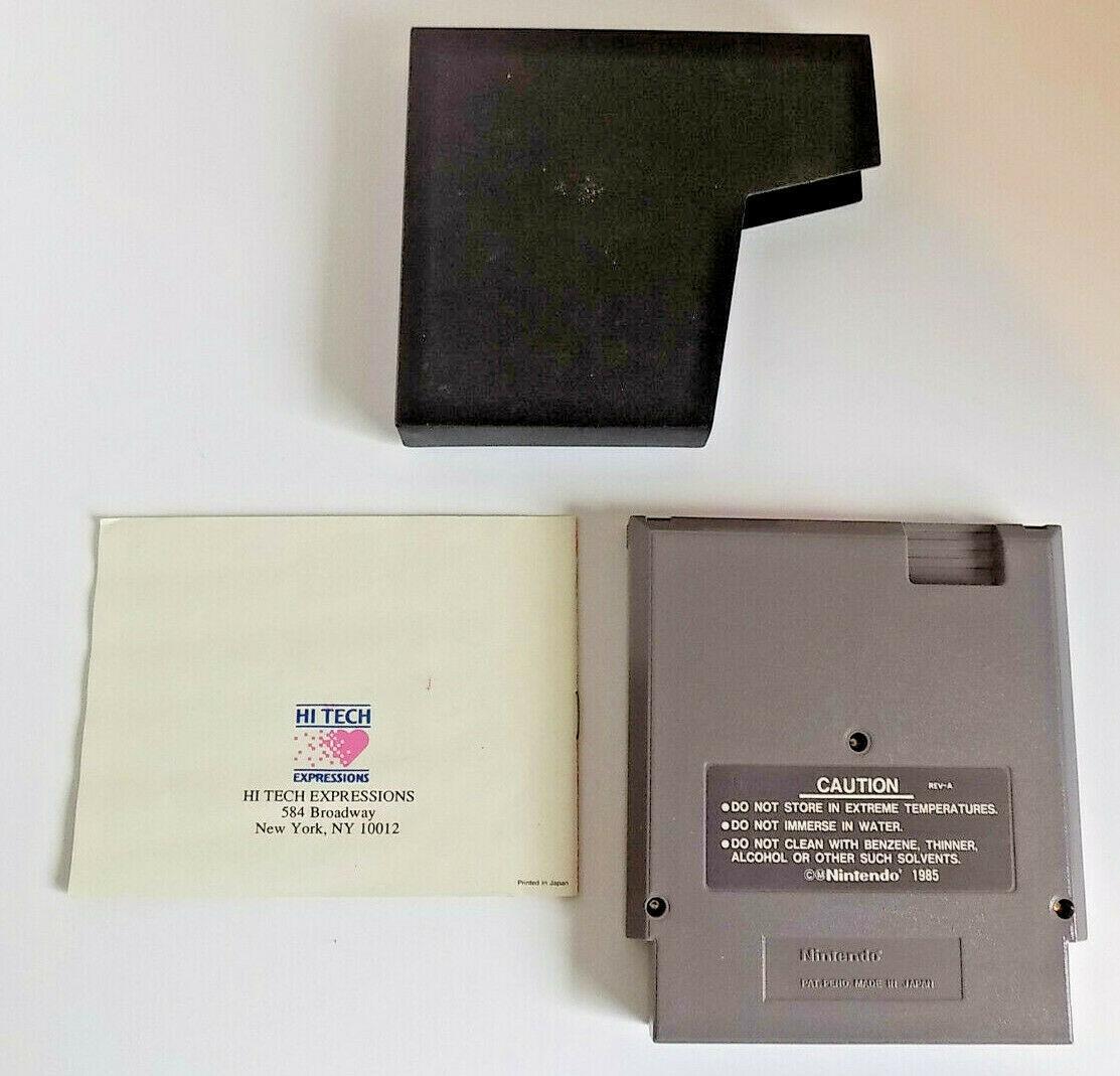 Barbie game cartridge w/manual NES (Nintendo Entertainment System, 1991)