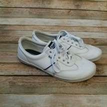 Keds Ortholite Women Leather White Sneakers Size 8.5 - $26.30 CAD