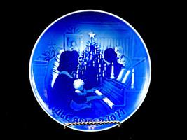 """Bing & Grondahl 6"""" Christmas Plate,""""Christmas at Home"""" 1971 10/6/4 - $14.65"""