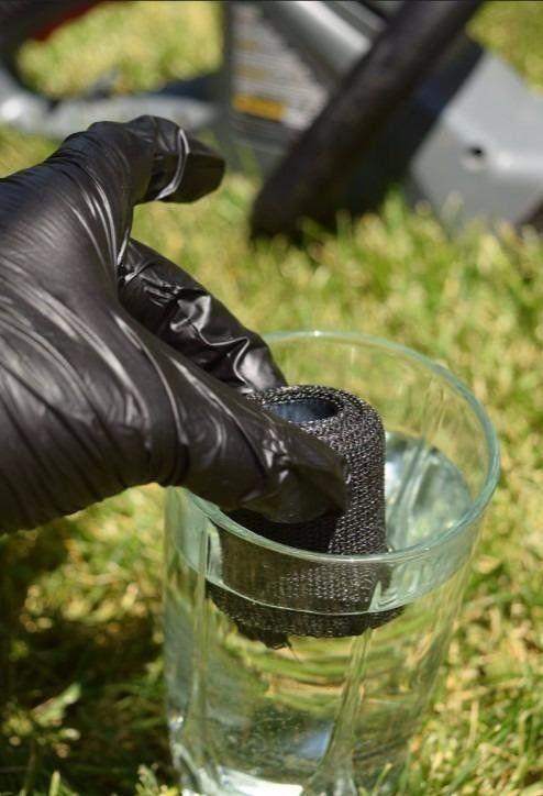 Exhaust Repair Wrap Waterproof Bandage Pipe Leak Tape Quick Steel Plumbing Hose image 11