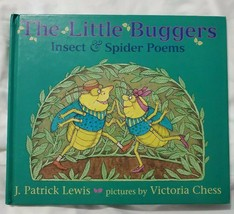 1st ED Little Buggers Insect Spider Poems by Lewis Chess Pic's By Victor... - $9.46
