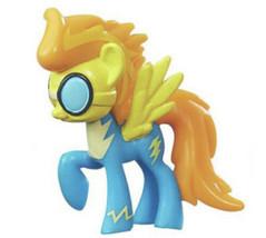 My Little Pony Mini Figure Spitfire Hasbro blue yellow G4 cloudsdale won... - $8.90