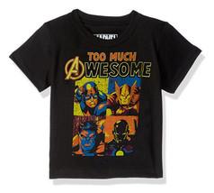 Marvel Boys' Big Boys' Avengers T-Shirt, Black - $14.95