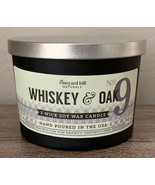 Vineyard Hill Naturals Candle Whiskey & Oak 3 Wick Soy Wax Candle 12 oz. - $44.06