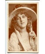 ELLA HALL-NICE PORTRAIT-1920-ARCADE CARD G - $21.73