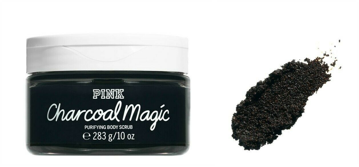Primary image for Victoria's Secret PINK Charcoal Magic 10.0 Ounces Purifying Body Scrub