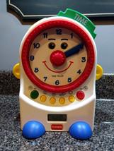 Playskool Teachin Time Talking Clock Toy Digital and Dial 1995 PS-725 - $25.00