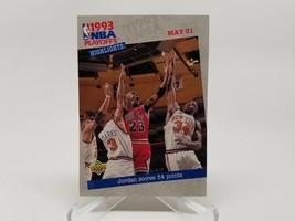 1993 Upper Deck Playoff Highlights #193 Michael Jordan NM - $3.95