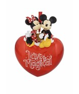 Disney Mickey and Minnie Valentine Love Ornament  - $38.99