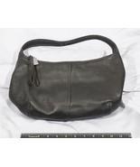 Coach Black Leather Satchel Handbag Purse tthc - $170.62