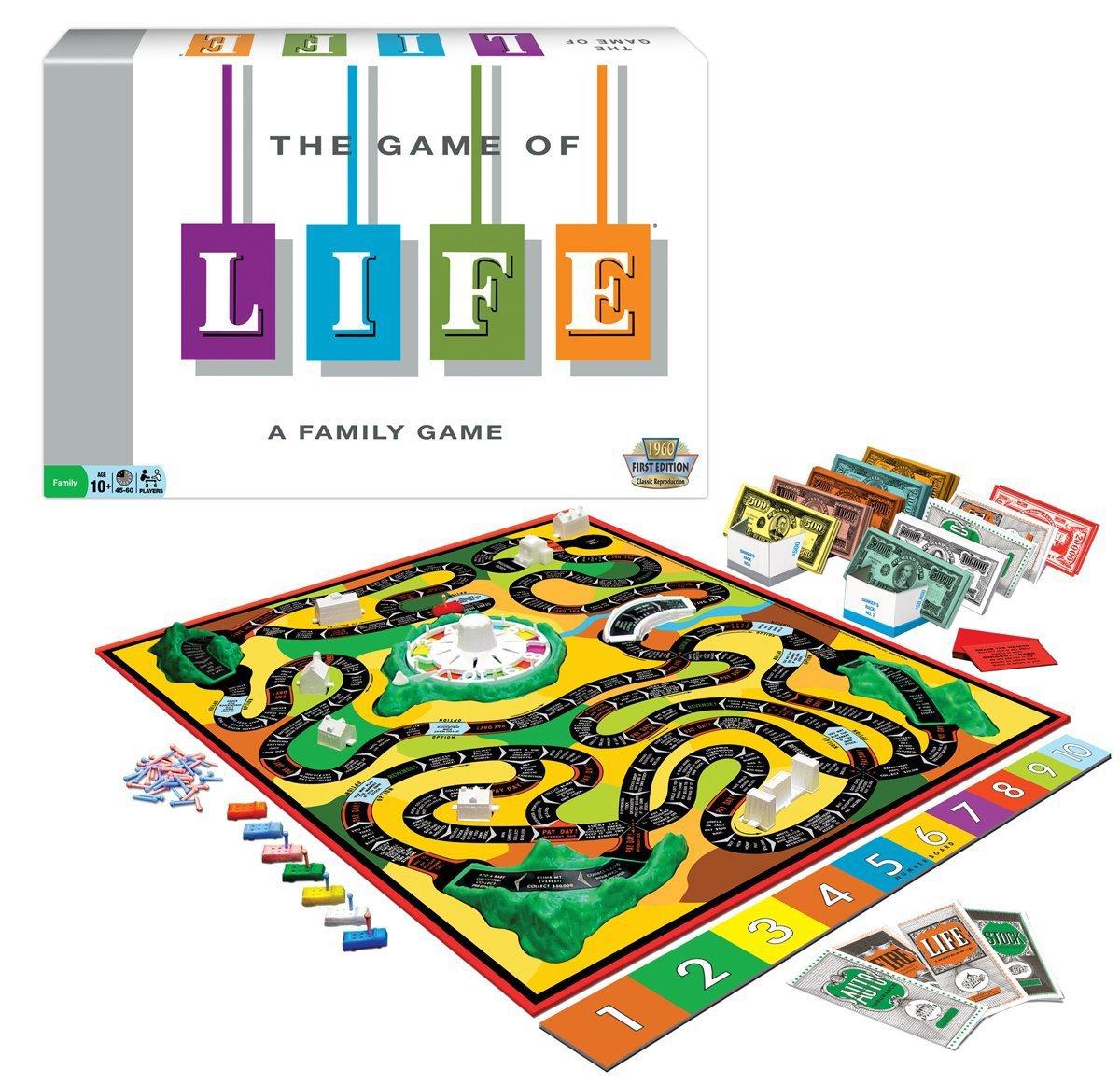 Life original board game