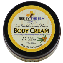 Bee By The Sea Buckthorn and Honey Ultra-Moisturizing Body Cream Jar 7.5... - $25.50