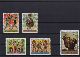 REPUBLIC DE GUINEE USED STAMPS - $7.26