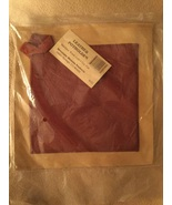Two New Leather Pot Holders Mountain Mamma Products Burgundy Tan  - $53.00