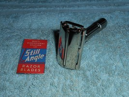 1961 Gillette Refurbished RePlated FatBoy Razor G1–12 - $125.00