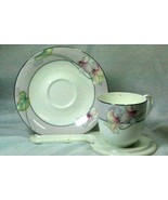 Mikasa 1988 Glamour Cup And Saucer Set CAE01 - $6.92