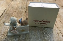 Snowbabies Puppy Check-Up 2004 With Box Department 56 - $46.74