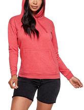 Women's Soft Lightweight Pull Over Sweatshirt Casual Drawstring Hoodie Sweater image 5