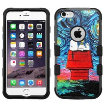 Snoopy #Starry Night Hybrid Armor Case for iPhone SE/6S/7/Plus/Galaxy S7... - €16,20 EUR