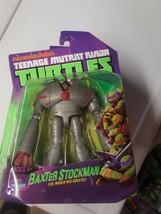 Baxter Stockman 2013 figure Teenage Mutant Ninja Turtles TMNT MIP Nickel... - $37.99