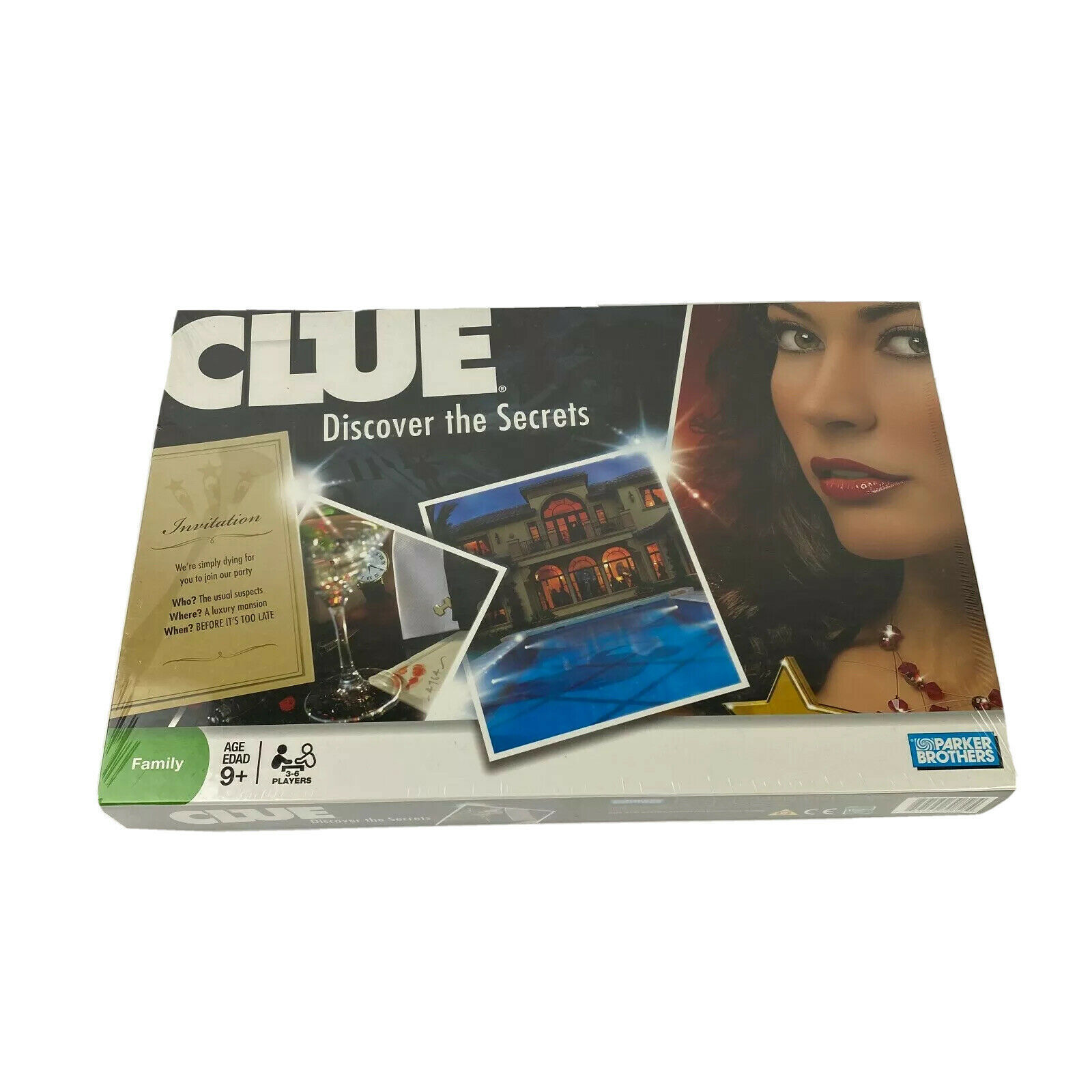 Clue Discover the Secrets Board Game Parker Brothers NEW - $34.99