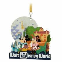 Disney World Mickey and Minnie 3D Metal Ornament, NEW - $25.00