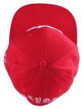 40oz Forty Ounce NYC Big Apple New York Old English Red Snapback Baseball Hat image 6