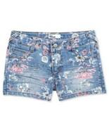 Epic Threads Floral-Print Denim Shorts - $21.86+