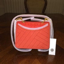NWT TORY BURCH ALEXA SUEDE CONVERTIBLE MINI SHOULDER BAG IN SAMBA - $280.14