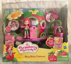 Strawberry Shortcake Berry Bitty Clubhouse  With Doll Dog and Acessories - $61.95