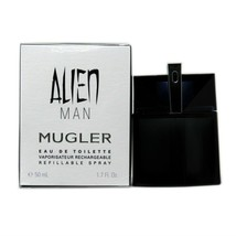 THIERRY MUGLER ALIEN MAN EAU DE TOILETTE REFILLABLE SPRAY 50 ML/1.7 FL.O... - $58.91