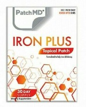 Patch MD Iron Plus Topical Patch - Helps with Iron Deficiency - 30 Day S... - $11.53