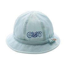 Foldable Beach Hat Lovely Sunhat Great Gift Blue Summer Hat Cotton Hat Baby Cap