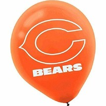 """""""Chicago Bears Collection"""" Printed Latex Balloons (6 Pieces) 12"""" - $7.59"""