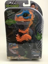 Untamed Fingerlings Orange Scratch Baby Dinosaur T-Rex Sealed Wowwee Dino - $26.68