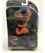 Untamed Fingerlings Orange Scratch Baby Dinosaur T-Rex Sealed Wowwee Dino - $26.68