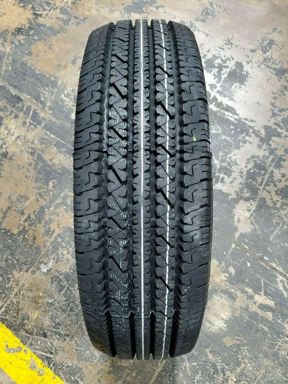 LT245/75R16 Bridgestone V-STEEL RIB 265 120/116S M+S 10PLY LOAD E 80PSI