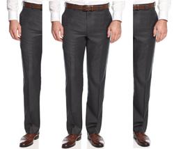 Lauren Ralph Lauren Men's Classic-Fit Charcoal Neat Wool Dress Pants,32X30, $125 - $69.29