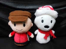 Hallmark Itty Bitty's Charlie Brown & Snoopy Collector's Set (2016) NO BOOK - $17.77