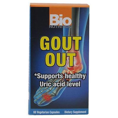 Bio Nutrition Gout Out - 60 Vegetarian Capsules for sale  USA