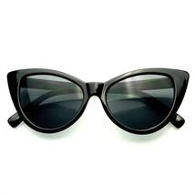 Sexy Mujer Clásico Ojos de Gato de Diseño Gafas Negras Gafas de Sol Marco - $7.55