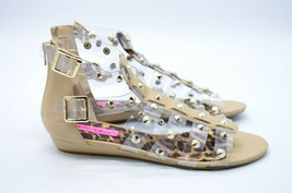Betsey Johnson Agean Gladiator Sandals Nude Size 10 Womens New in Box - $74.24