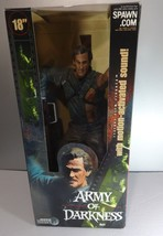 """McFarlane Movie Maniacs 18"""" Ash ARMY OF DARKNESS loose with box Evil Dead - $55.75"""