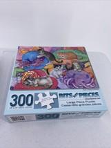 """Bits & Pieces Hat Shop Kittens Large 300 Piece Puzzle Cats 18"""" X 24"""" - $9.49"""