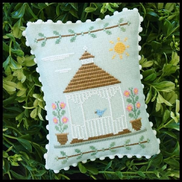 Gazebo #3 Main Street Station cross stitch Country Cottage Needleworks