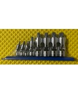 """Gearwrench 81070 8 pc 1/4"""" 3/8"""" and 1/2"""" dr Universal Stubby Triple Sq... - $25.74"""
