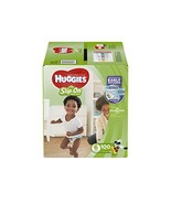 HUGGIES LITTLE MOVERS Slip-On Baby Diapers, Size 6, 100ct - $60.83