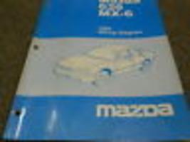 1994 Mazda 626 MX-6 MX6 Electrical Wiring Diagram Service Repair Shop Manual - $18.98