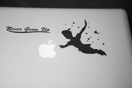 Apple Macbook Laptop Ipad 2 Peter Pan Never Grow Up Sticker Skin Vinyl D... - $7.99