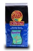 HEB Cafe Ole Whole Bean Coffee 12oz Bag (Pack of 3) (Hawaiian Blend - Medium Dar - $61.99